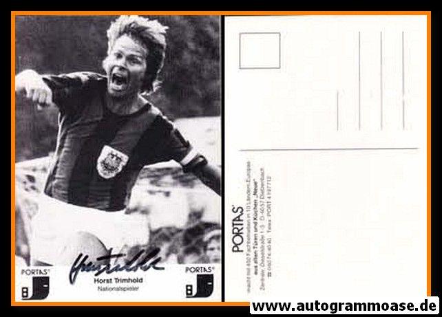 Autogramm Fussball | FSV Frankfurt | 1960er Retro | Horst TRIMHOLD (Portas)