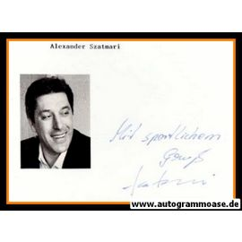 Autograph Fussball | Alexander SZATMARI