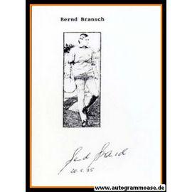 Autograph Fussball | DDR | Bernd BRANSCH