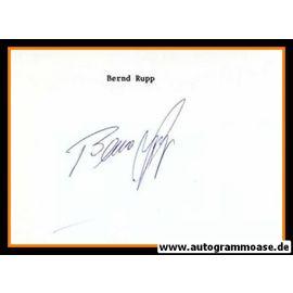 Autograph Fussball | Bernd RUPP