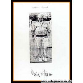 Autograph Fussball   Erich HÄNEL (DFB 1939)