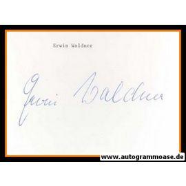Autograph Fussball | Erwin WALDNER