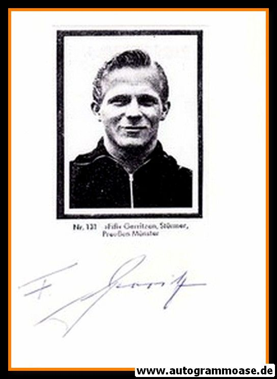 Autograph Fussball | Felix GERRITZEN