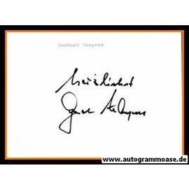 Autograph Fussball | Gerd HARPERS