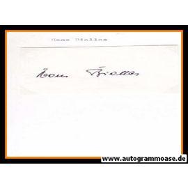 Autograph Fussball | Hans BIALLAS (DFB 1930er)