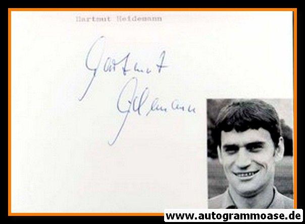 Autograph Fussball | Hartmut HEIDEMANN