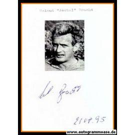 Autograph Fussball   Helmut BRACHT (Borussia Dortmund 1950er)