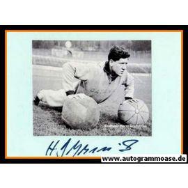 Autograph Fussball   Horst SZYMANIAK