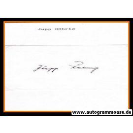 Autograph Fussball | Josef RÖHRIG