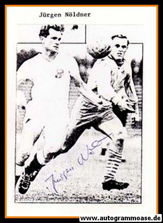 Autograph Fussball   DDR   Jürgen NÖLDNER (2)