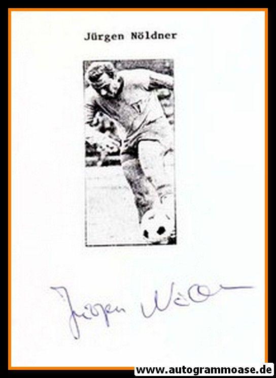 Autograph Fussball | DDR | Jürgen NÖLDNER (1)