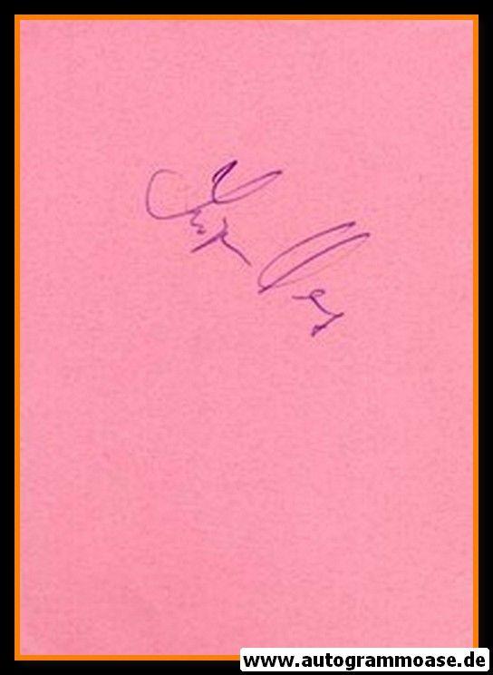 Autograph Fussball   Jürgen WERNER