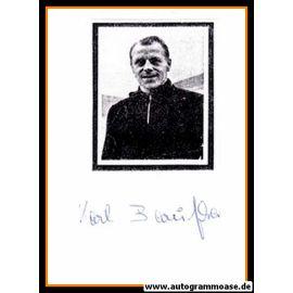 Autograph Fussball | Karl BARUFKA (DFB 1950er)