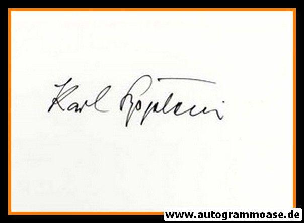 Autograph Fussball | Karl BÖGELEIN (DFB 1951)