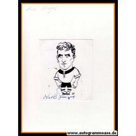 Autograph Fussball   Karl RINGEL (DFB 1958)