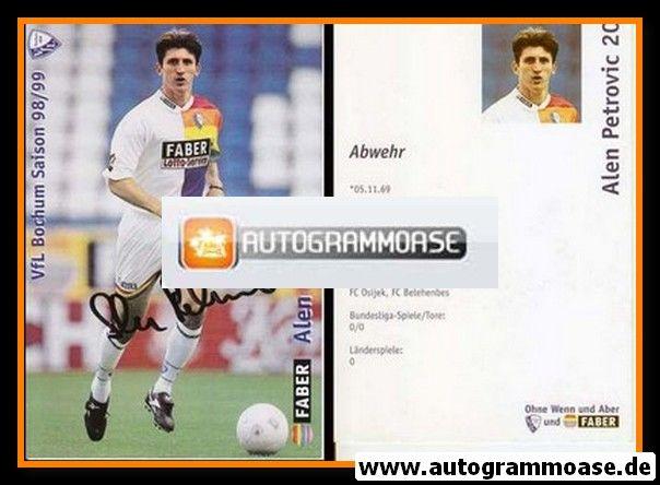 Autogramm Fussball | VfL Bochum | 1998 | Alen PETROVIC