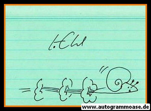 Autograph Sprint | Klaus EHL (mit Zeichnung)