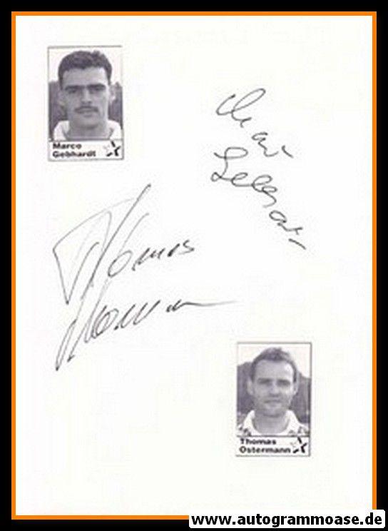 Autographen Fussball | Marco GEBHARDT + Thomas OSTERMANN