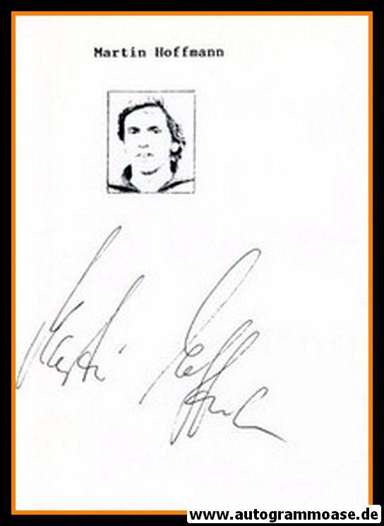 Autograph Fussball | DDR | Martin HOFFMANN