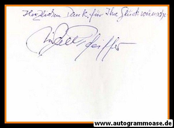 Autograph Fussball | Michael PFEIFFER