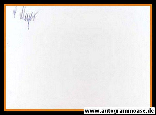 Autograph Fussball | Peter MEYER (DFB 1967)