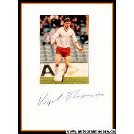 Autograph Fussball   Thomas VOGEL
