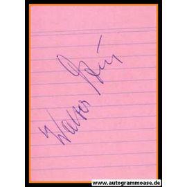 Autograph Fussball | Walter DZUR (DFB 1940er)