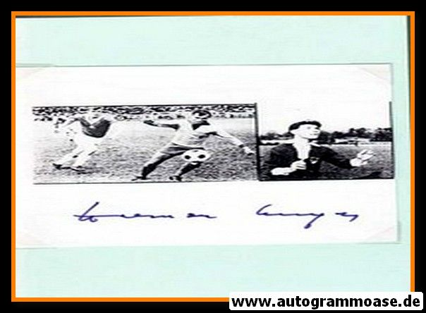 Autograph Fussball | DDR | Werner UNGER