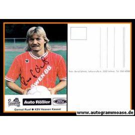 Autogramm Fussball   KSV Hessen Kassel   1989   Gernot RUOF