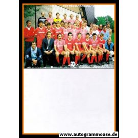Mannschaftskarte Fussball | KSV Hessen Kassel | 1988