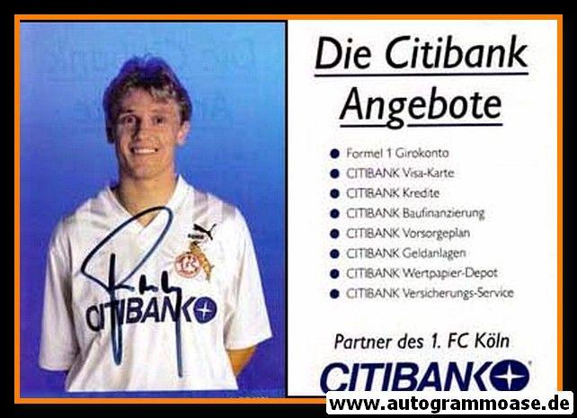 Autogramm Fussball | 1. FC Köln | 1991 | Andrzej RUDY
