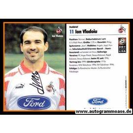 Autogramm Fussball | 1. FC Köln | 1996 | Ion VLADOIU