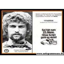 Autogramm Fussball   Fortuna Köln   1980er   Florian HINTERBERGER