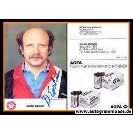 Autogramm Fussball | Fortuna Köln | 1986 | Dieter EPSTEIN