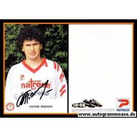 Autogramm Fussball | Fortuna Köln | 1991 | Victor PASULKO