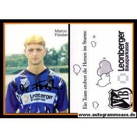 Autogramm Fussball   VfB Leipzig   1995   Marco FÖRSTER