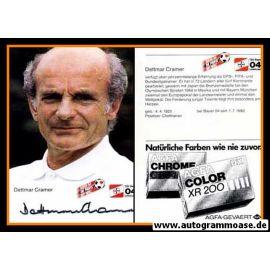 Autogramm Fussball | Bayer Leverkusen | 1984 | Dettmar CRAMER