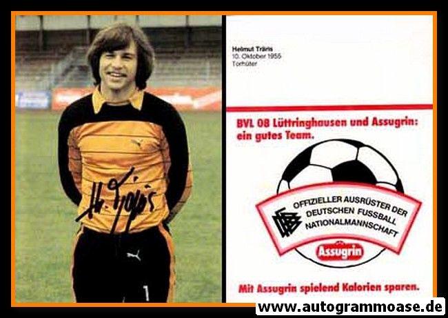 Autogramm Fussball   BV 08 Lüttringhausen   1980er   Helmut TRÄRIS