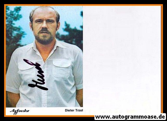 Autogramm Fussball | Bayer Leverkusen | 1981 | Dieter TRZOLEK