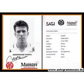 Autogramm Fussball   FSV Mainz 05   1995   Abderrahim OUAKILI