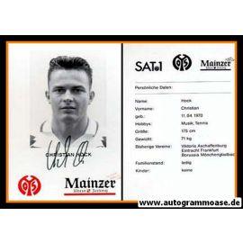 Autogramm Fussball   FSV Mainz 05   1995   Christian HOCK
