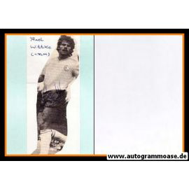 Autogramm Fussball | 1. FC Magdeburg | 1980er | Axel WITTKE (Spielszene SW)