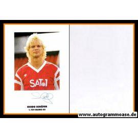 Autogramm Fussball | FSV Mainz 05 | 1990 | Guido SCHÄFER