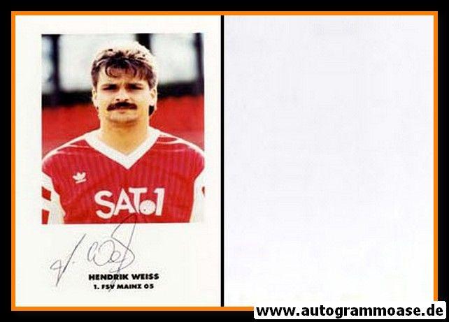 Autogramm Fussball | FSV Mainz 05 | 1990 | Hendrik WEISS