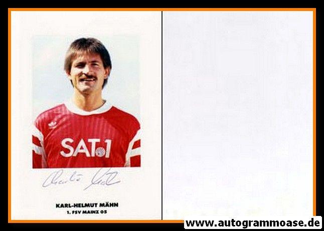 Autogramm Fussball   FSV Mainz 05   1990   Karl-Helmut MÄHN