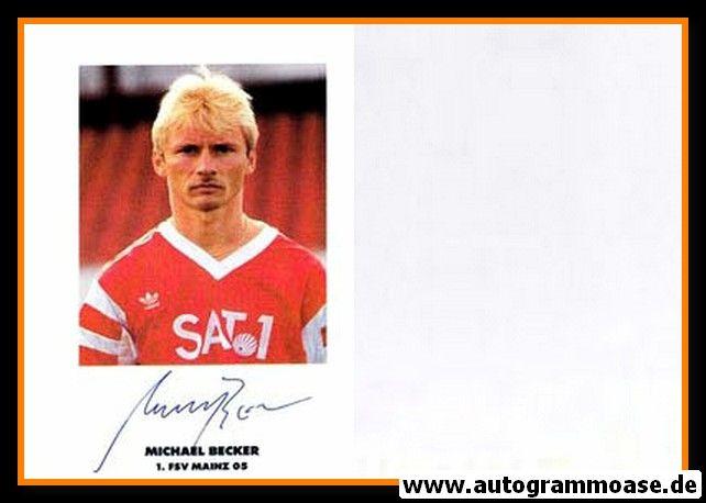 Autogramm Fussball | FSV Mainz 05 | 1990 | Michael BECKER