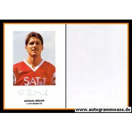 Autogramm Fussball | FSV Mainz 05 | 1990 | Michael MÜLLER