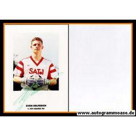 Autogramm Fussball   FSV Mainz 05   1990   Sven HELFERICH