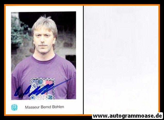 Autogramm Fussball   SV Meppen   1991   Bernd BOHLEN