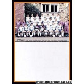 Mannschaftskarte Fussball   SV Meppen   1991